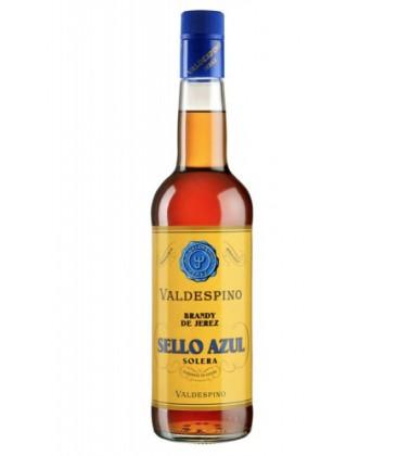 brandy sello azul valdespino