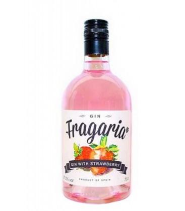 fragaria gin - ginebra de fresas fragaria