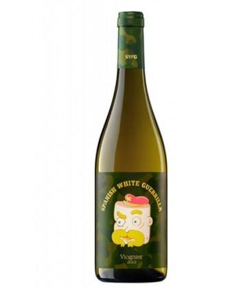 spanish white guerrilla viognier - comprar vino spanish white - vino blanco
