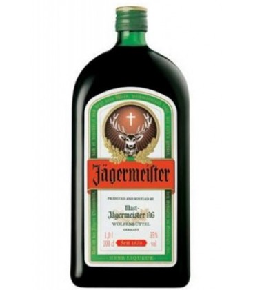 licor de hierbas jagermeister 100cl