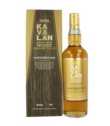 kavalan ex-bourbon oak - whisky  kavalan ex-bourbon oak