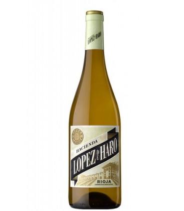 vino blanco hacienda lopez de haro rioja
