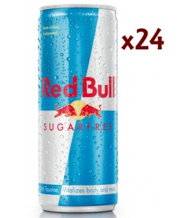 Red Bull Sugarfree Caja 24Uds