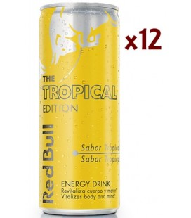 red bull tropical edition - bebida energ