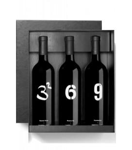 Estuche Winery Arts (Tres al Cuadrado, Seís al Revés y Número 9)