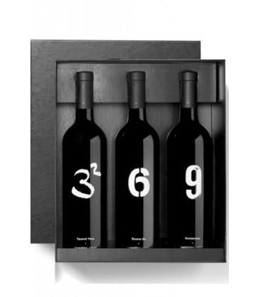 estuche winery arts - tres al cuadrado, se