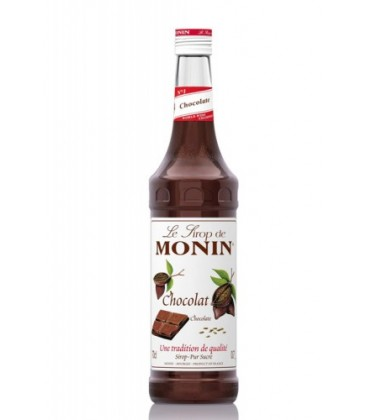 sirope monin chocolate - chocolate syrup