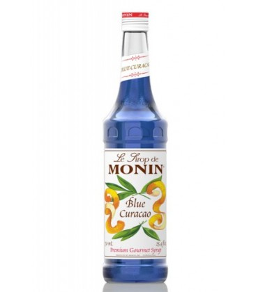 monin curacao blue - monin curacao blue syrup