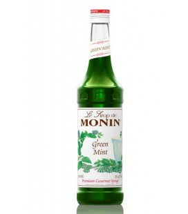 monin menta verde - green mint syrup