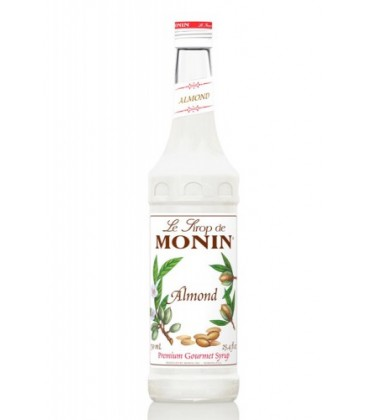 sirope monin de almendra orgeat - monin almond syrup