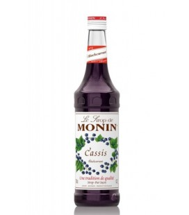 sirope monin cassis - monin blackcurrant syrup