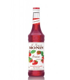 monin fresa - monin strawberry syrup