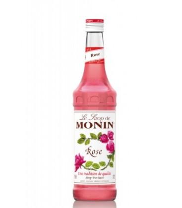 sirope monin rosas - monin rose syrup
