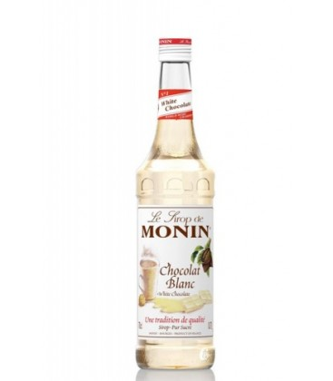 sirope chocolate blanco monin - monin white chocolate syrup