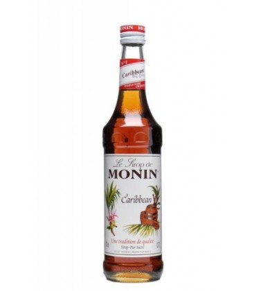 sirope monin ron caribbean - monin caribbean syrup