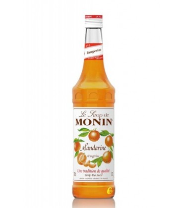 sirope monin mandarina - monin tangerine syrup
