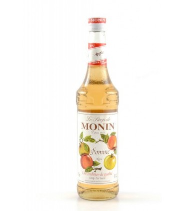 monin manzana - monin apple syrup