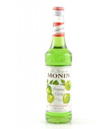 sirope monin manzana verde - monin green apple syrup