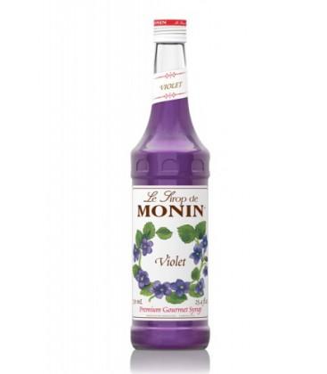 sirope monin violeta - monin violet syrup