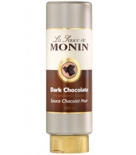 monin crema chocolate negro 50cl - crema monin - monin