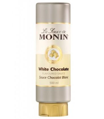 monin crema chocolate blanco 50cl - monin chocolate blanco - monin