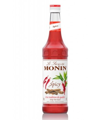monin sirope spicy - monin - picante