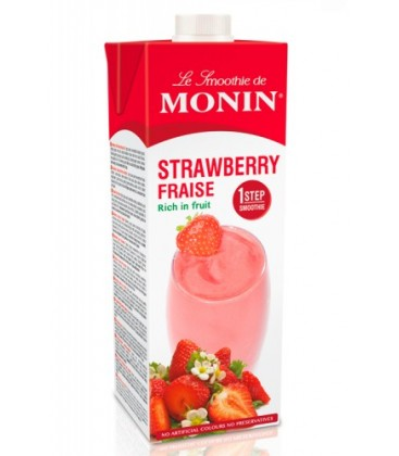 smoothie 1 step monin - monin - smoothie fresa monin - monin