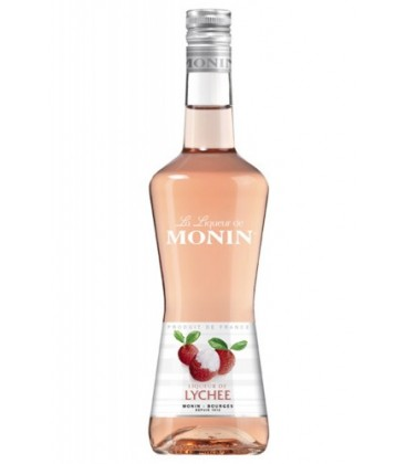 licor monin litchi - licor monin - moni litchi - licor de litchis