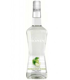 licor monin manzana verde - licor monin - licor de manzana verde - monin