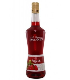 Licor Monin Fresas