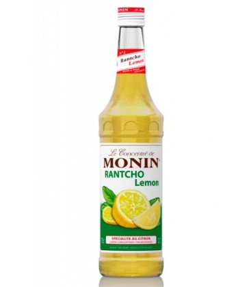 monin lemon rantcho - sirope monin rantcho - rantcho