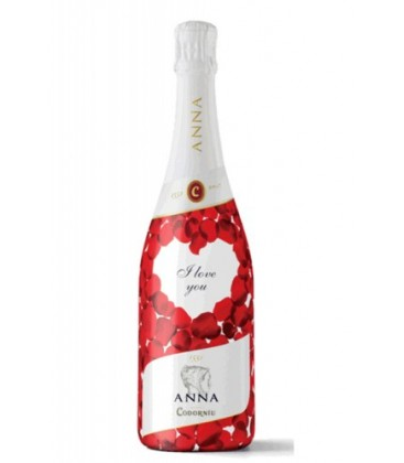 anna de codorniu blanc de blancs - i love you