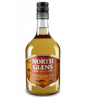 north glens whisky peach - comprar north glens whisky peach - licor melocoton