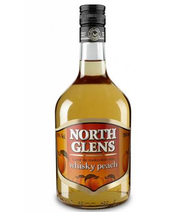 north glens whisky peach - comprar north glens whisky peach -  licor melocoton