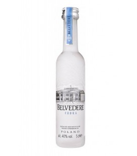 miniatura belvedere vodka 5cl - belvedere - vodka - comprar vodka