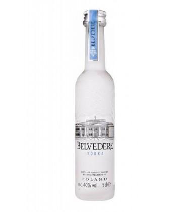 miniatura belvedere vodka 5cl - belvedere - vodka - comprar vodka