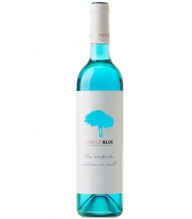 Pasion Blue Chardonnay (vino azul)