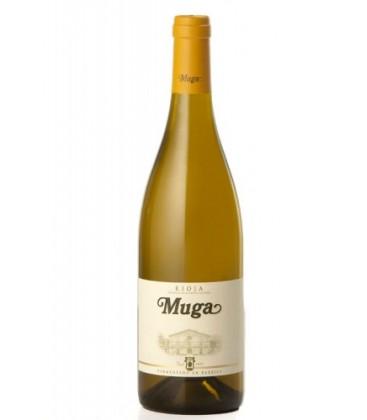 vino muga blanco fermentado en barrica