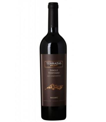terrazas single vineyard las compuertas - vino tinto - terrazas - vino
