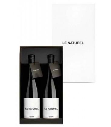 estuche 2 botellas le naturel - le naturel - comprar vino tinto - vino - tinto