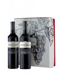 Estuche 2 botellas Ramón Bilbao reserva 2012