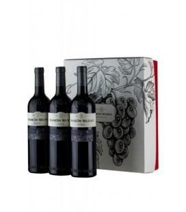 Estuche 3 botellas Ramón Bilbao reserva 2012