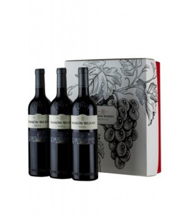 Estuche 3 botellas Ramón Bilbao reserva