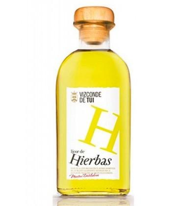 licor de hierbas vizconde de tui - comprar licor de hierbas - tui - hierbas