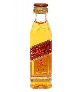 Miniatura Johnnie Walker Red Label 5cl