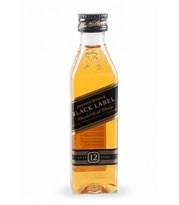 miniatura johnnie walker black label - comprar black label - whisky