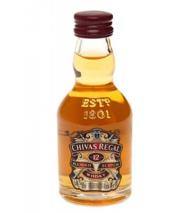 miniatura chivas regal 12 a