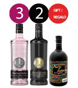 Pack Puerto de Indias Gin