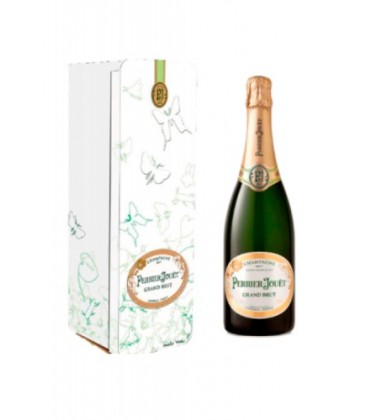 perrier jouet grand brut - vino espumoso frances - champagne