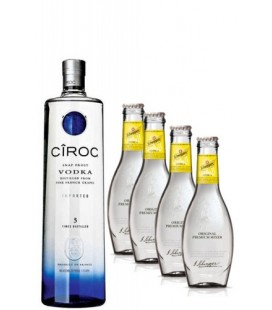 Pack Ciroc Vodka + 4 Tonica Schweppes
